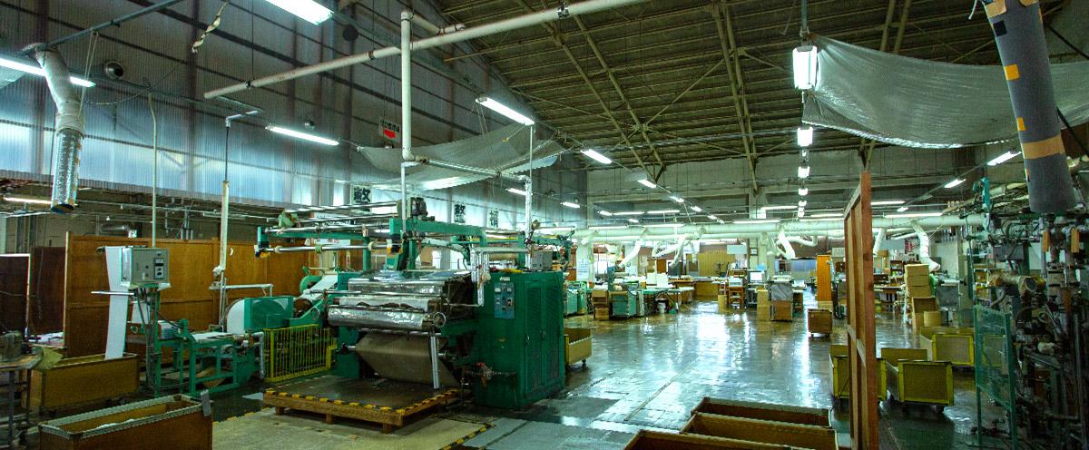 丹後織物工業組合工場