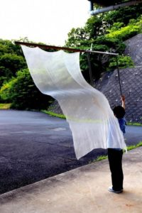 京都府織物・機械金属振興センター開発生地が『ジャパン・テキスタイル・コンテスト2020』で優秀賞受賞!