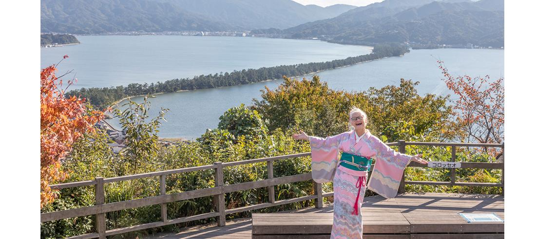 シーラ・クリフと絹織物の里を巡る 家庭画報海外版の WEBサイトで掲載!